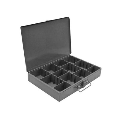 Metal Parts Tool Box with Adjust Dividers