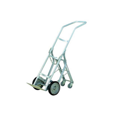 Cylinder Hand Truck with Swing-out Roller (1 Cylinder)