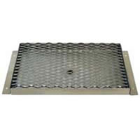 "Counter Mount Drip Trays - 5/8"" Drain (Multiple Sizes) /"